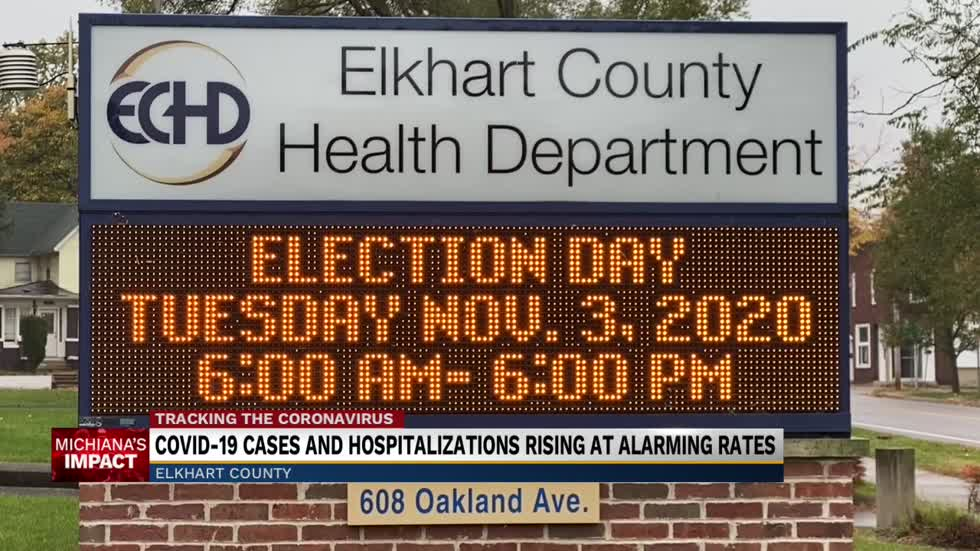 Elkhart County Covid-19 hospitalizations rise as cases continue...